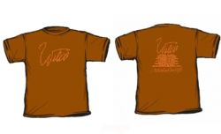 Girls Brown Wire Tshirt