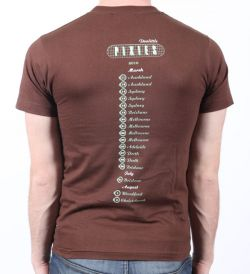 Dolittle Tour Brown Tshirt Tour 2010
