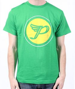Solid Circle Green Tshirt