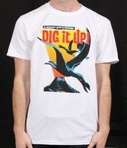 Dig It Up White Event Tshirt 2012