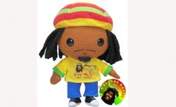 "Reggae Rasta 7"" Plush Doll"