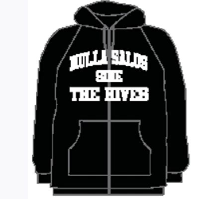 Nulla Black Zip up hoody Australian Tour 2011