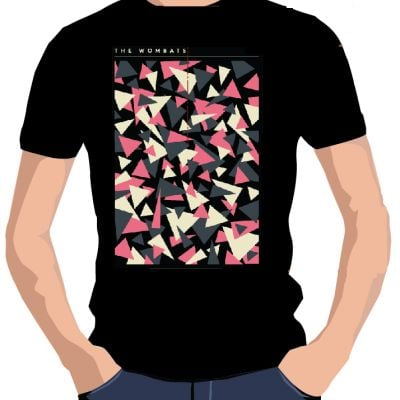 Triangles Black Tshirt