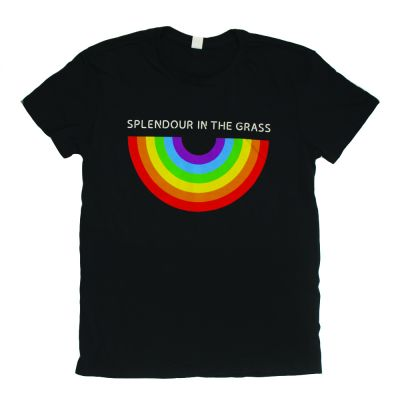 Rainbow Aged Black Tshirt