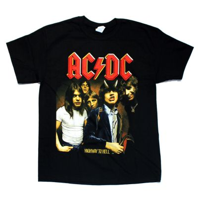 Highway To Hell Black Tshirt