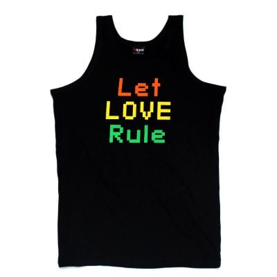 Let Love Rule Black Singlet