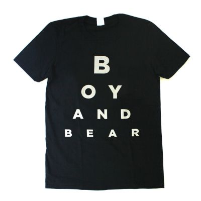 Eye Test Black Tshirt