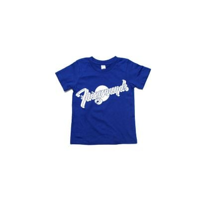 Logo Kids Royal Blue Tshirt