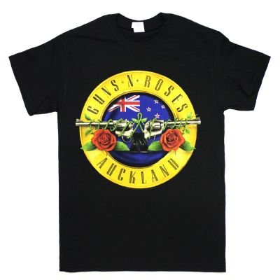 Auckland/NZ - 4th Feb Orange Bullet Event Black Tshirt (Limited)