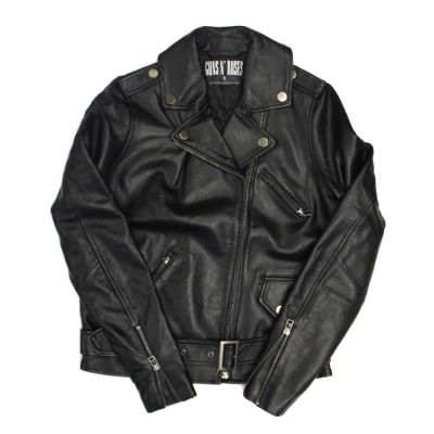 GNFNR Women's Leather Jacket