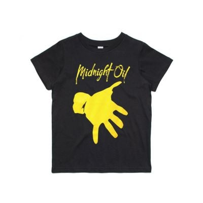 Hand Kids Black Tshirt