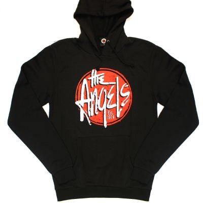 Red Logo Black Hoody