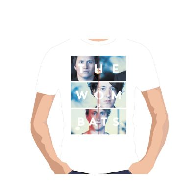 Photo Stack White Tshirt