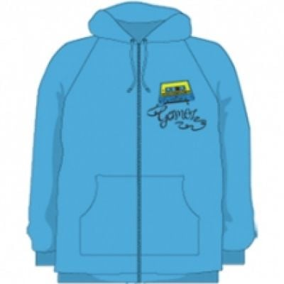 Blue zip up hoodie Australian Tour 2011
