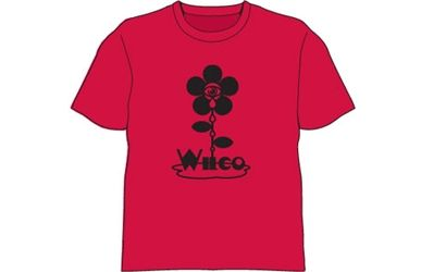 Flower Red Tshirt by Wilco