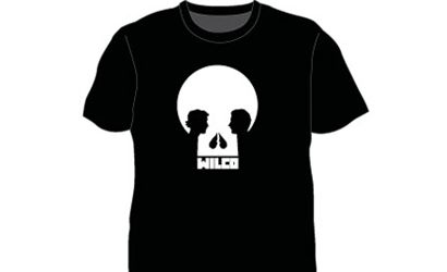 Skull Black Tshirt by Wilco