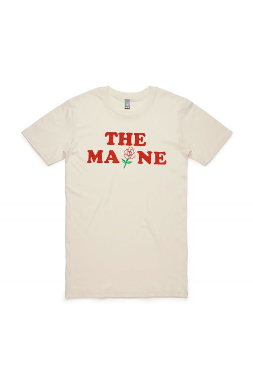 Vintage Rose Tan Tshirt by The Maine