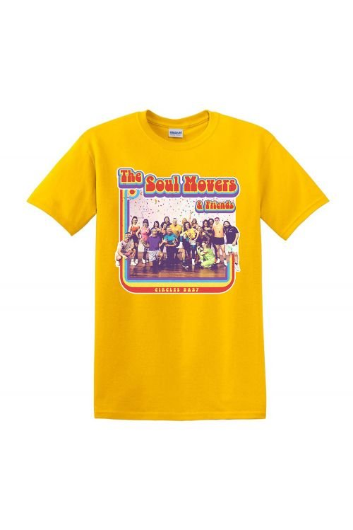 Circle Baby Yellow Tshirt by The Soul Movers