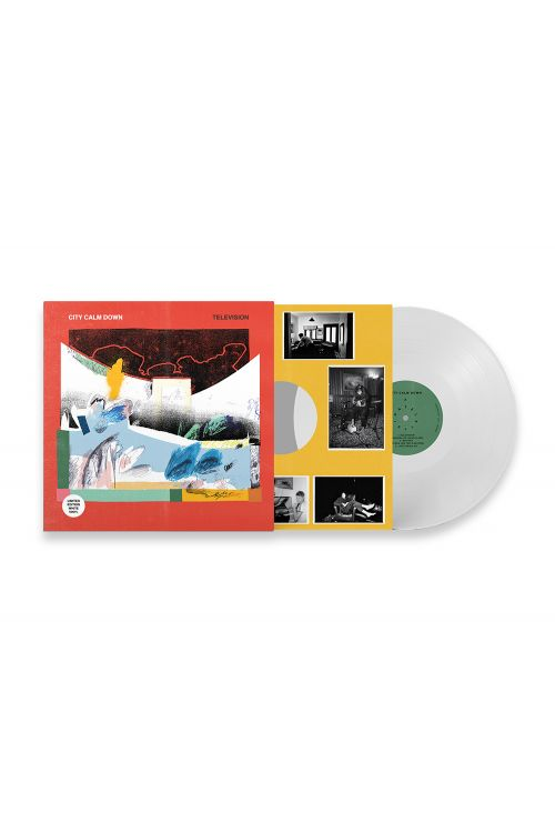 "Television LP 12"" (LIMITED EDITION Signed White Vinyl) + Tshirt Bundle Offer - Pre Order by City Calm Down"