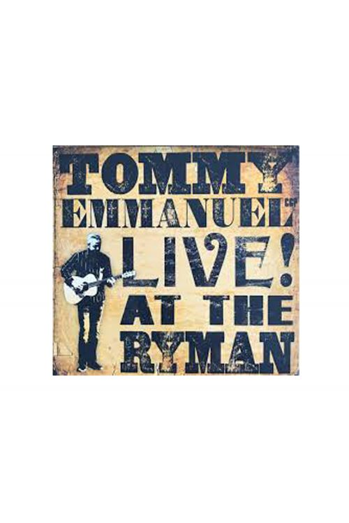 Live At The Ryman CD by Tommy Emmanuel