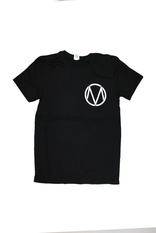 Pocket Logo/Letters Black Tshirt by The Maine