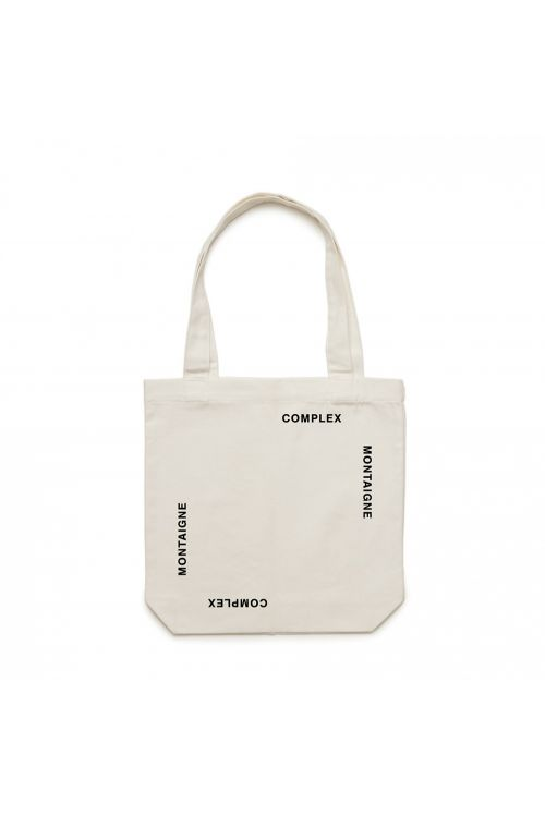 Tote Bag Complex White by Montaigne