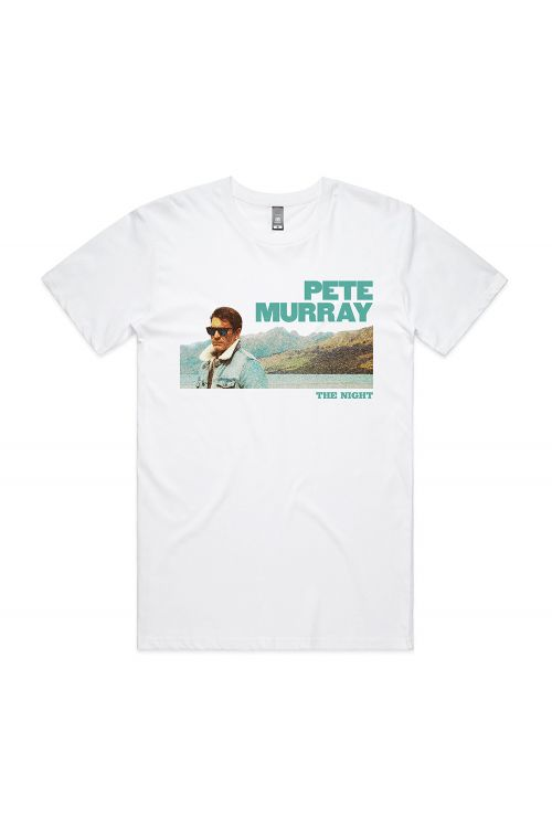 THE NIGHT WHITE MENS UNISEX TSHIRT by Pete Murray