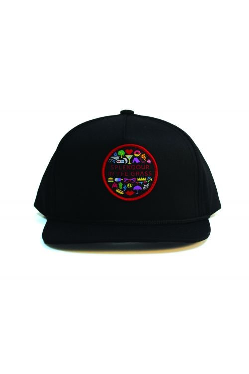 Icon Patch Black Snapback by Splendour In The Grass