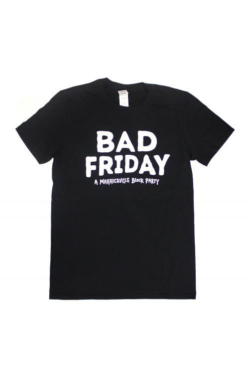 Event Black Tshirt by Bad Friday Festival