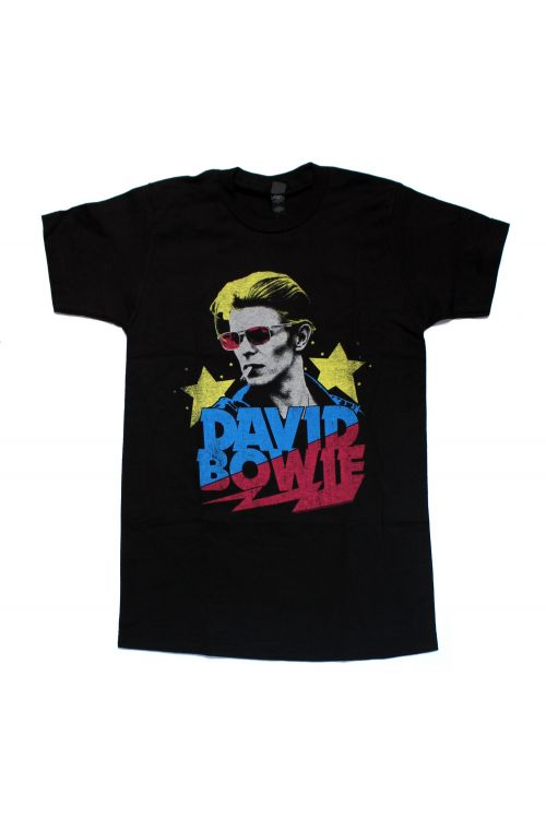 Starman Black Tshirt by David Bowie