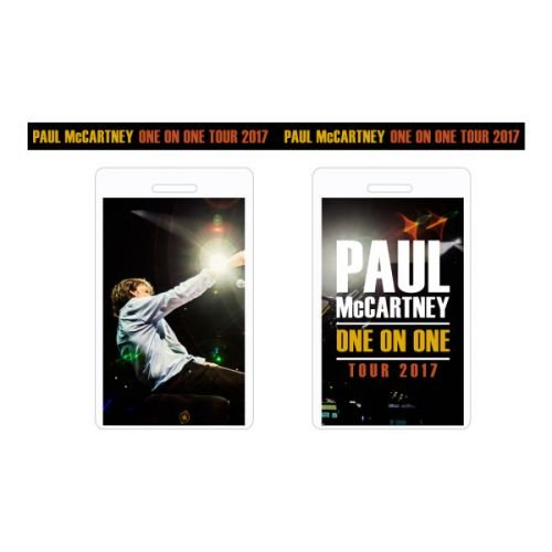 Laminate/Lanyard Souvenir One On One World Tour 2017 by Paul McCartney