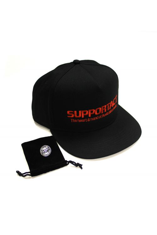 Cap and Lapel Pin Bundle Pack by Support Act