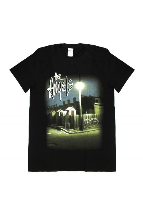 Take It To The Streets Black Tshirt by The Angels