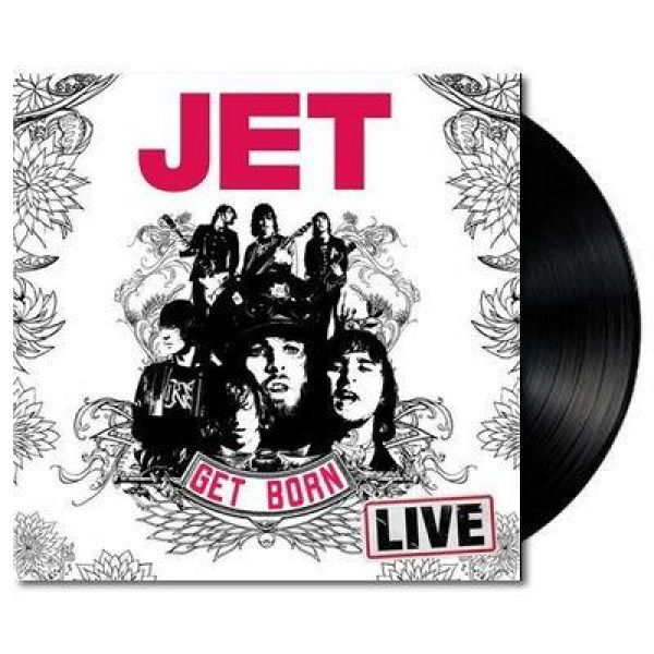 Get Born Live LP (Vinyl) Limited