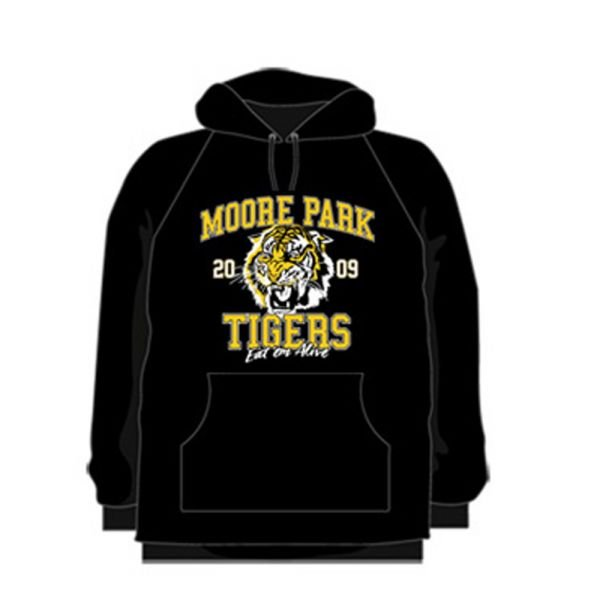 Black Adult Hoody