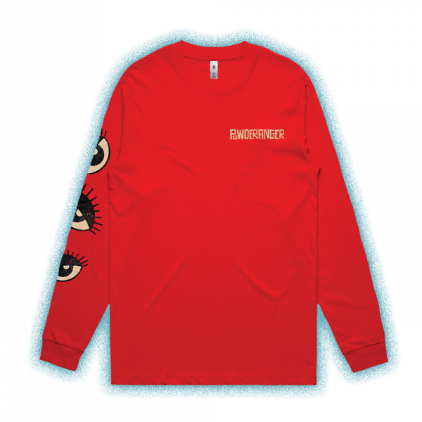 Eyes Red Long Sleeve Tshirt