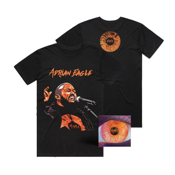 MAMA CD SIGNED AND BLACK TEE BUNDLE