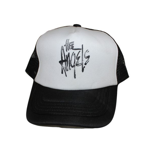 Trucker Cap Black/White Logo