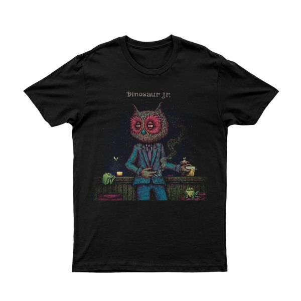 Owl Man Black Tshirt