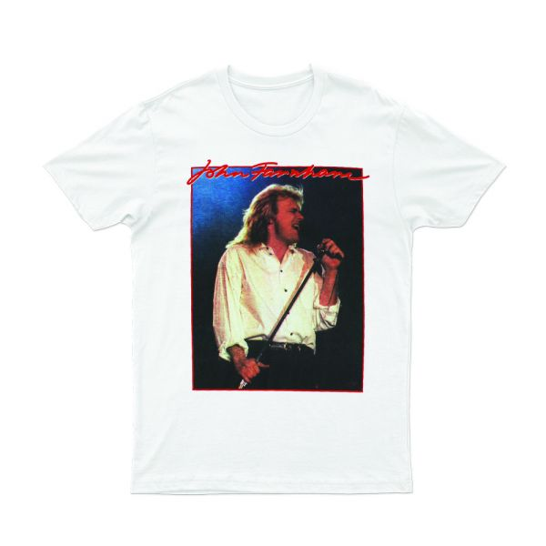 Vintage Rock White Tshirt Aus/NZ 2018/2019