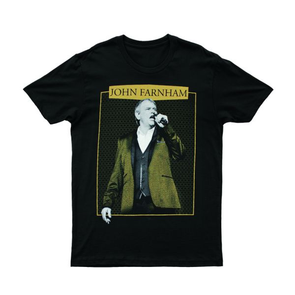 Gold Jacket Black Tshirt 2018/2019 Tour