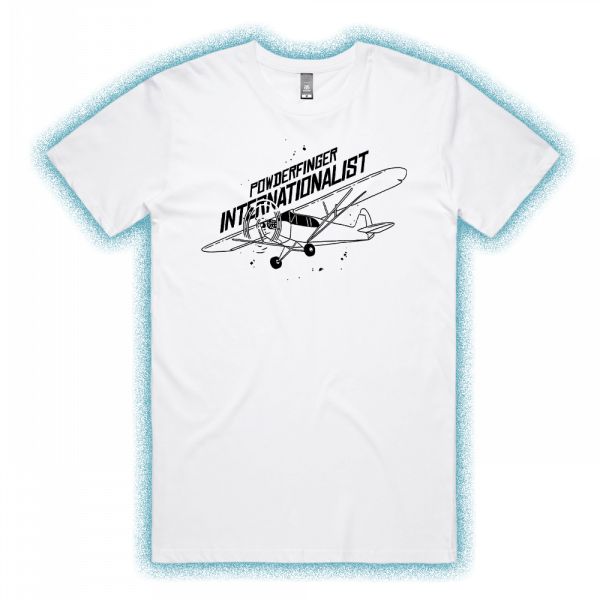 Internationalist White Unisex Tshirt
