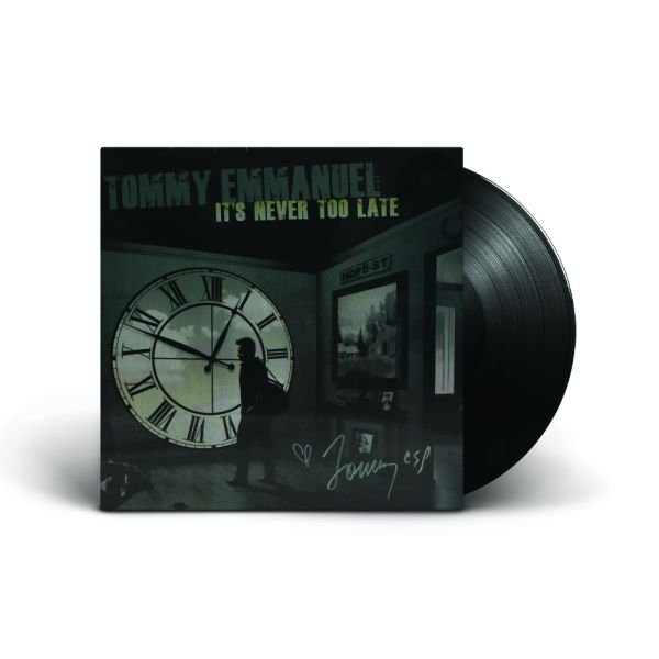 It's Never Too Late Vinyl (2015) Gatefold Sleeve Limited Signed