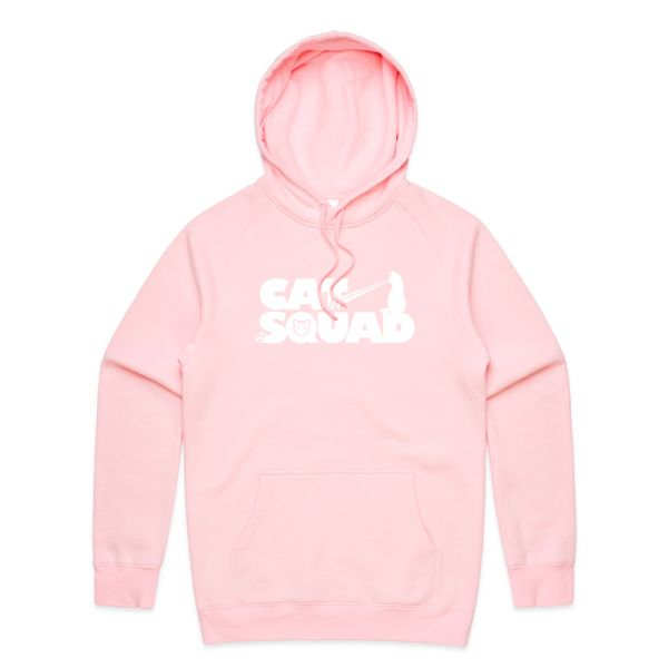 New Cat Squad design hoodie (Multiple Colors Available)