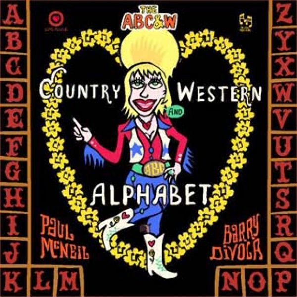 Country and Western Alphabet Kids Book