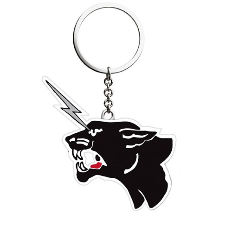 The Cult's Electric Panther Keychain