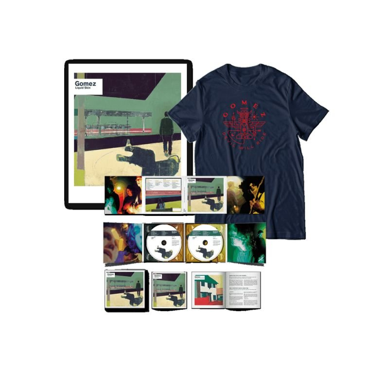 Liquid Skin 20th Anniversary Edition: 2 CD & Limited Edition Print Bundle