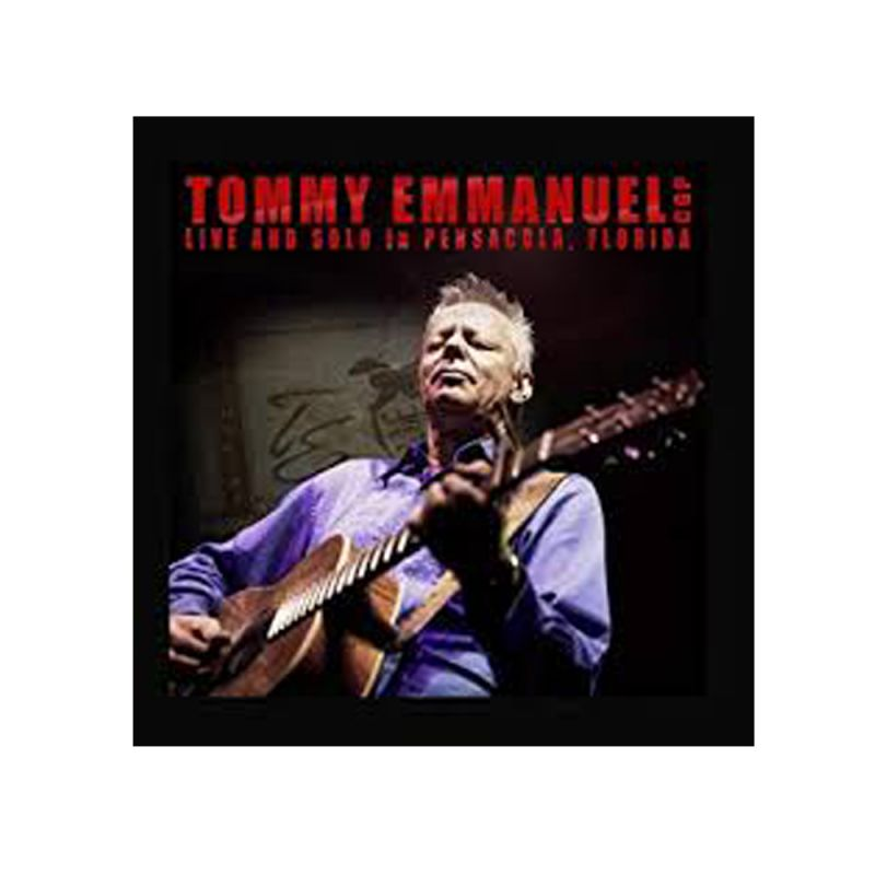 Live and Solo In Pensacola, Florida CD/DVD