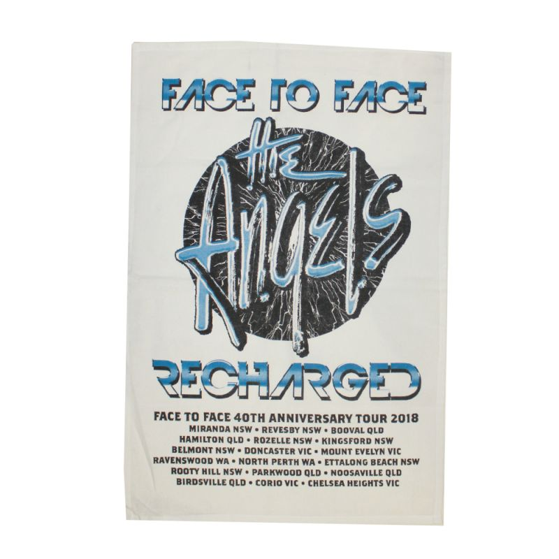 Face To Face Recharged Tour Tea Towel