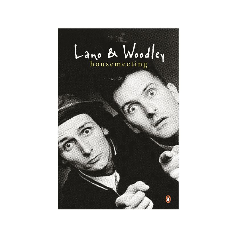 """Lano & Woodley housemeeting"" signed paperback book by Colin Lane and Frank Woodley (Limited)"
